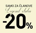Za članove LC kluba dodatnih -20% na sav asortiman!