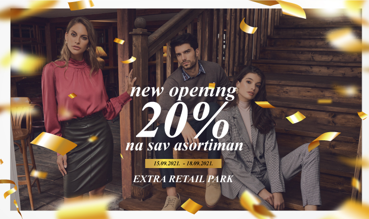 New opening - Extra retail park