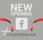Facebook stranica LegendWW - CG