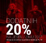 Dodatnih -20% na WEB shop-u