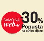 Dodatnih -30% na OUTLET asortiman