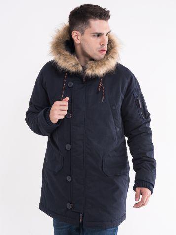 Teget zimska jakna