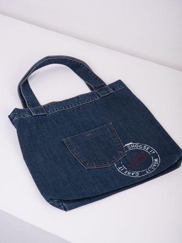 Pamučna denim torba
