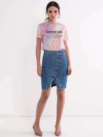 Denim suknja