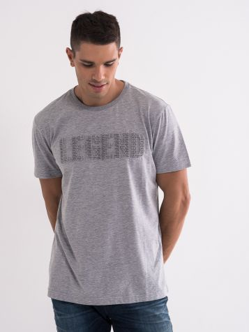 Legend majica siva