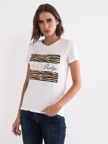 Majica sa animal printom