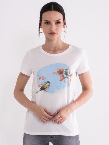 Majica sa ljetnjim printom