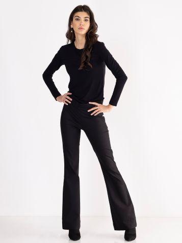 Crne zvono pantalone