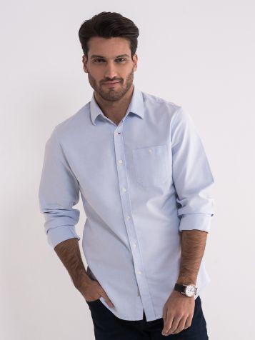 Muška svijetlo plava košulja