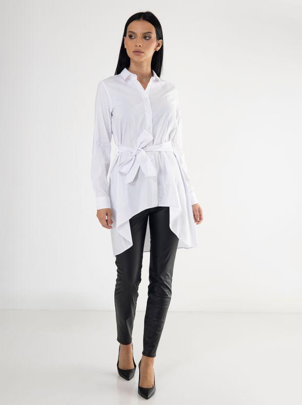 Bijela košulja sa pojasom