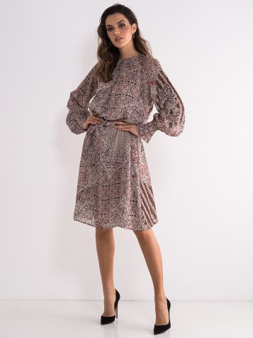 Dezenirana poslovna haljina