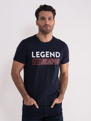 Teget casual majica