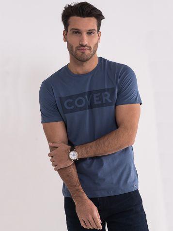 Muška teget denim majica