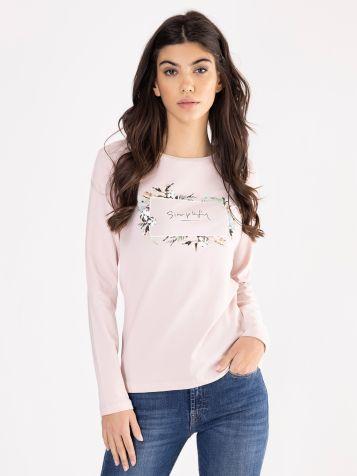 Ženska majica u puder boji