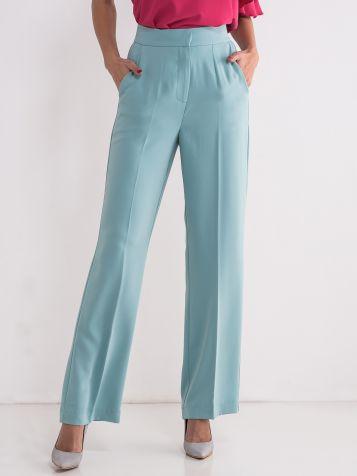 Ženske tirkizne pantalone