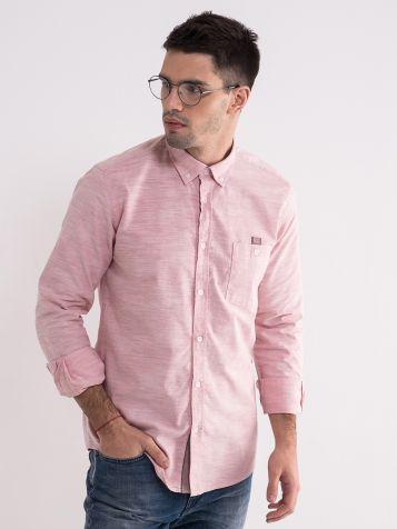 Pamučna roza košulja