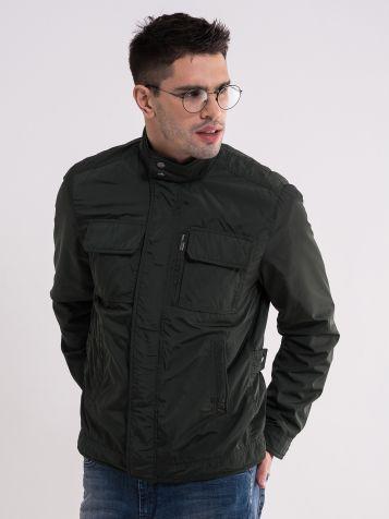 Casual zelena muška jakna