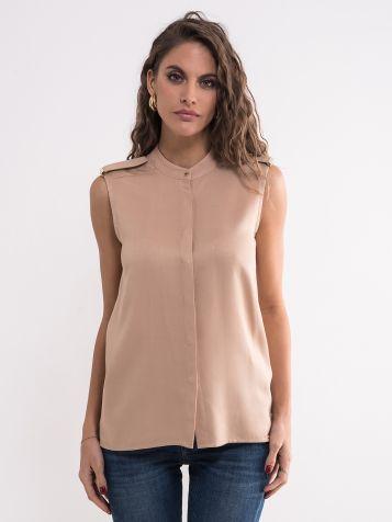 Elegantna bež bluza