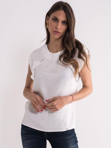 Bijela bluza sa karnerima