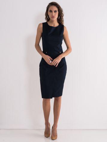 Elegantna teget haljina