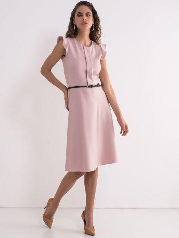 Roza elegantna haljina