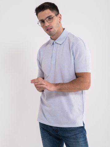 Prugasta majica sa kragnom