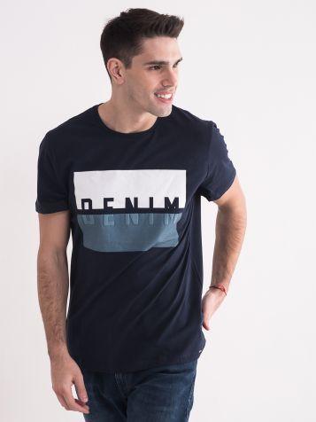 Muška teget majica