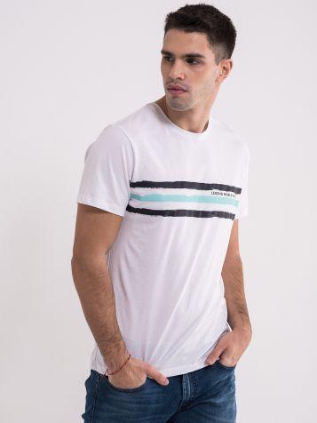 Casual bijela majica