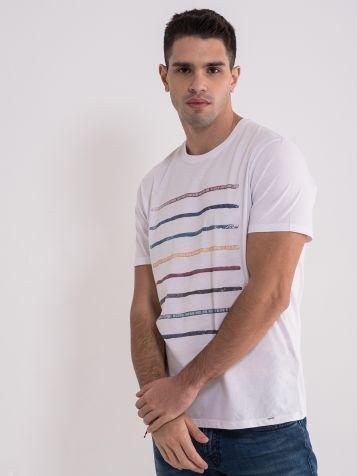 Casual bijela muška majica