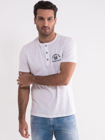 Bijela majica sa dugmićima