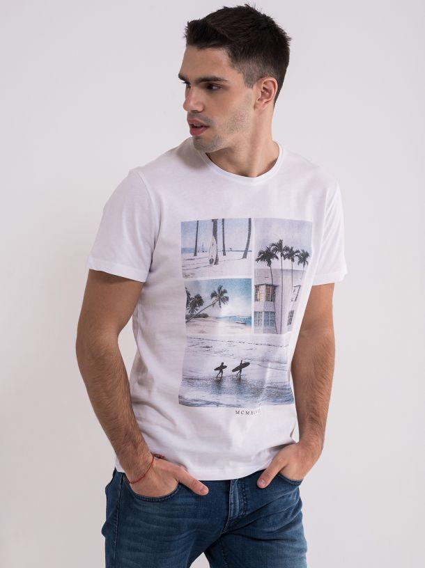Bijela letnja majica