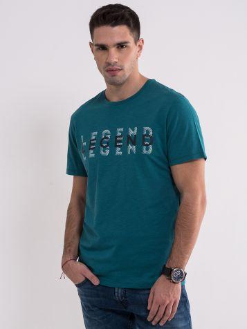 Pamučna zelena majica
